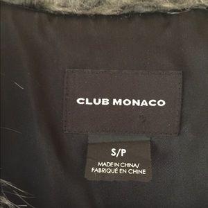 Club Monaco Jackets & Coats - Club Monaco Matilda faux fur vest